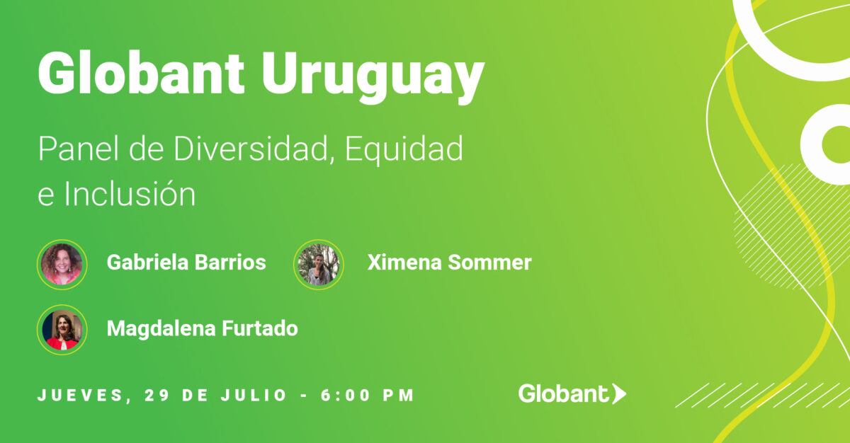 Panel de Diversidad, Equidad e Inclusión Globant Uruguay